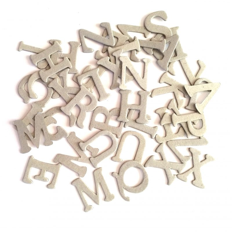 Alphabets Letters Uppercase (60 Pieces)