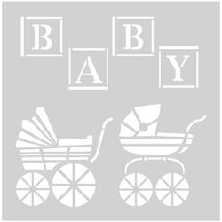 Baby Pram 8 X 8
