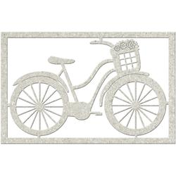 Bicycle with Basket 2.8 X 4.3