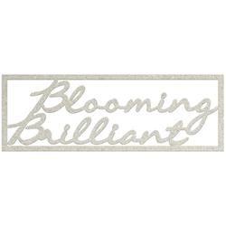 Blooming Brilliant