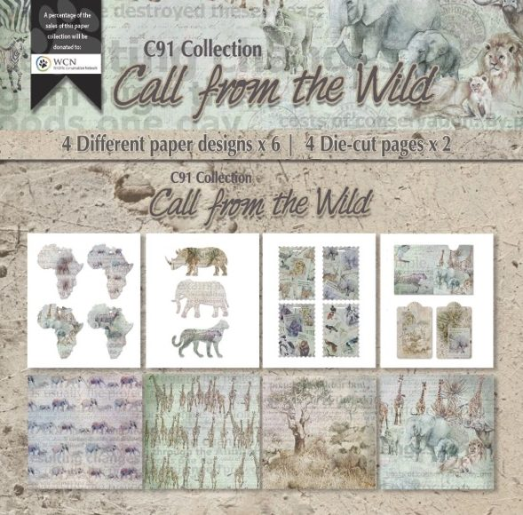 Call of the Wild Paper and diecuts Kit