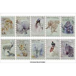africa stamp stickers